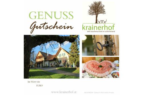 Krainerhof Genuss Gutschein